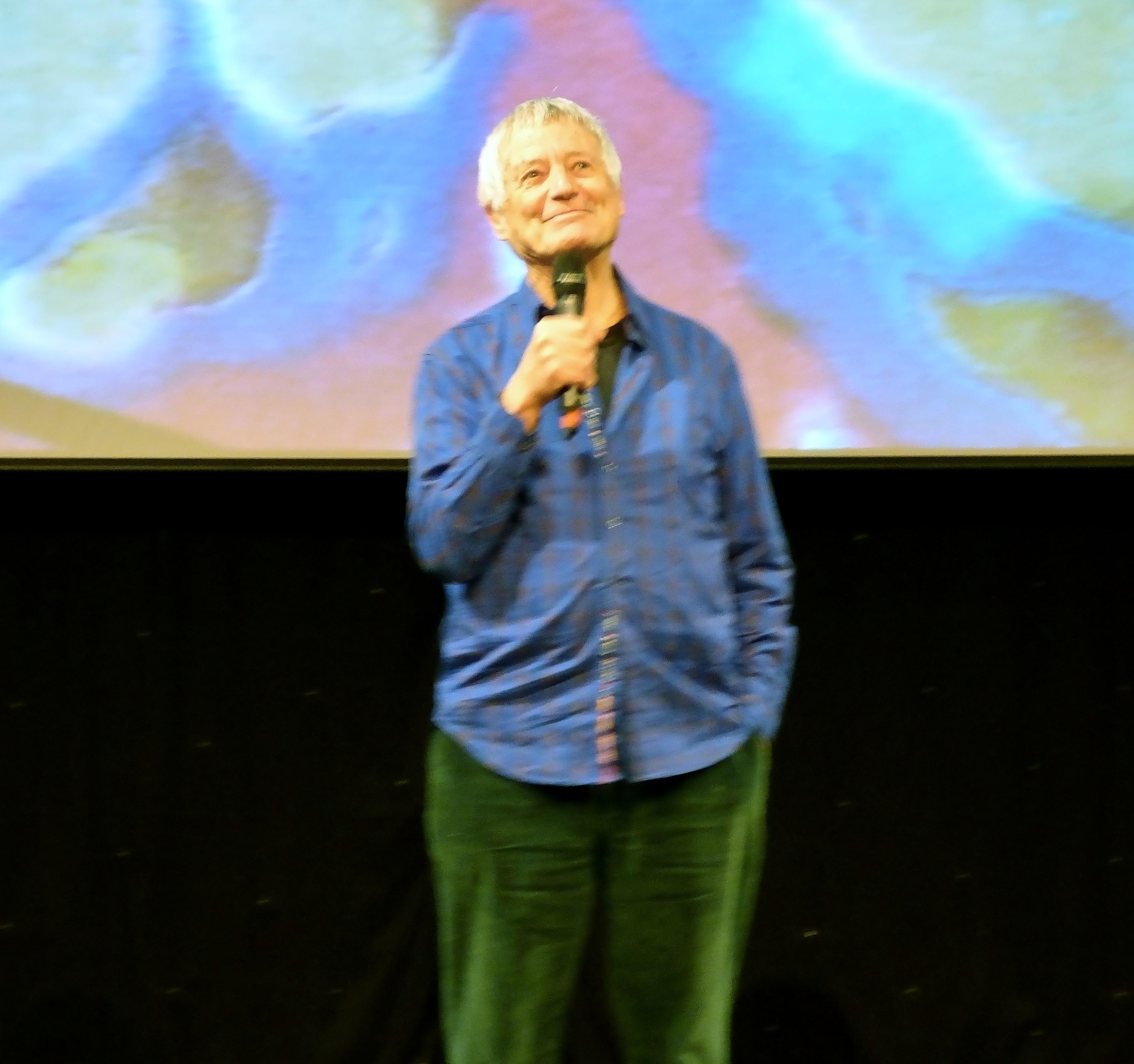 Kaffe Fassett Lecture, Capstone Theatre, Dec 2016