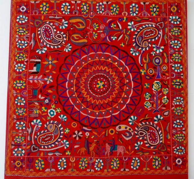 Kantha quilt1 from Bangladesh