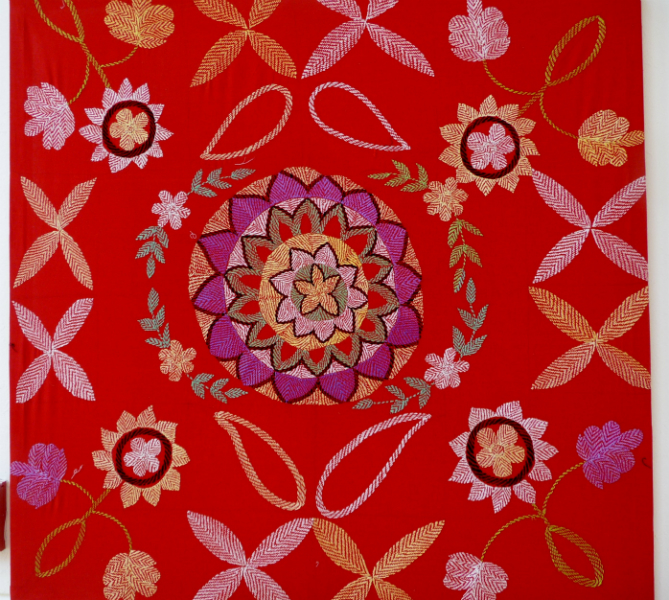 Kantha quilt2 from Bangladesh