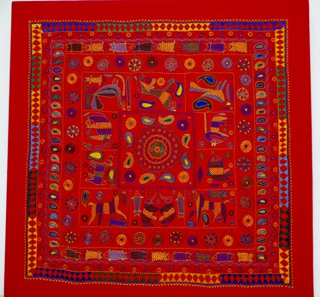 Kantha quilt3 from Bangladesh