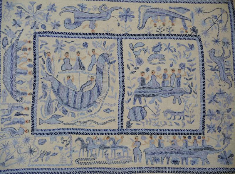Kantha quilt4 from Bangladesh