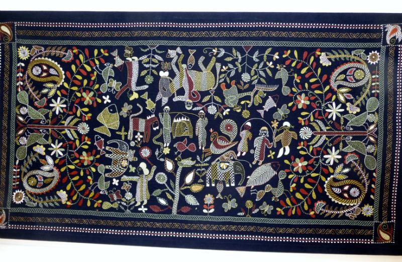 Kantha quilt5 from Bangladesh