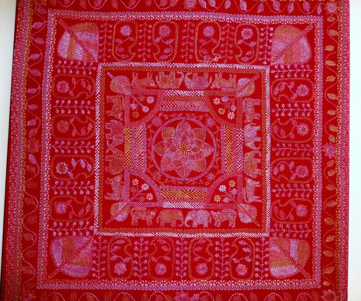Kantha quilt6 from Bangladesh