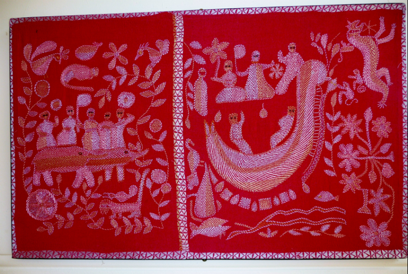 Kantha quilt7 from Bangladesh