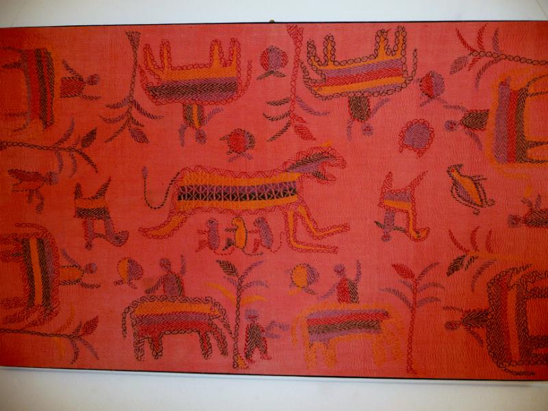Kantha quilt8  from Bangladesh