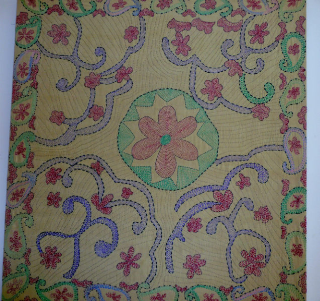 Kantha quilt9 from Bangladesh