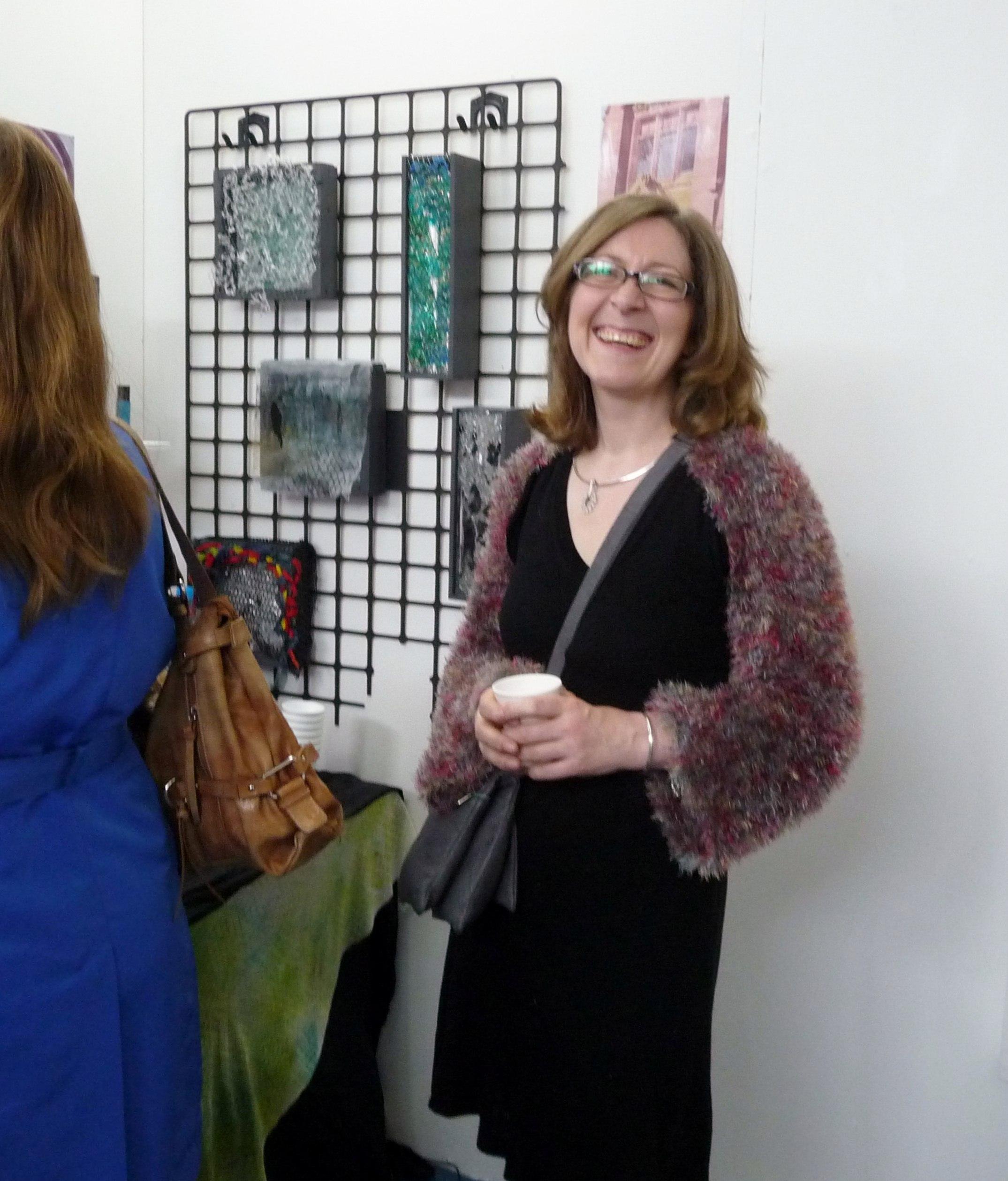 Karen Scott's Foundation exhibition at The Arts Centre, Liverpool Community College, June 2013