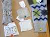 samples of knitting designs by Kay Kelloway