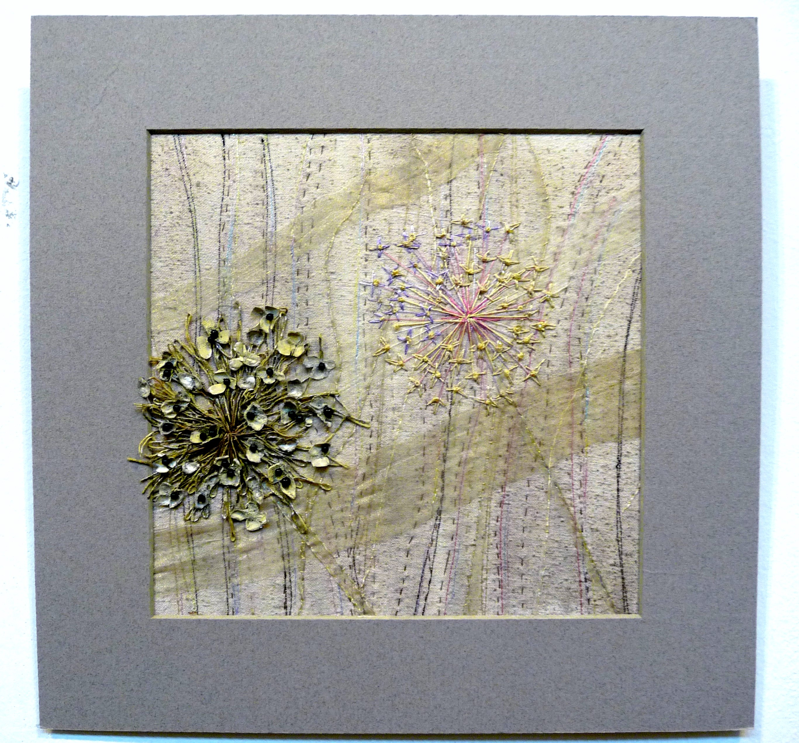 EG All That Glistens 2015 entry CRISP DELICACY OF ALLIUMS by Margaret Sweet