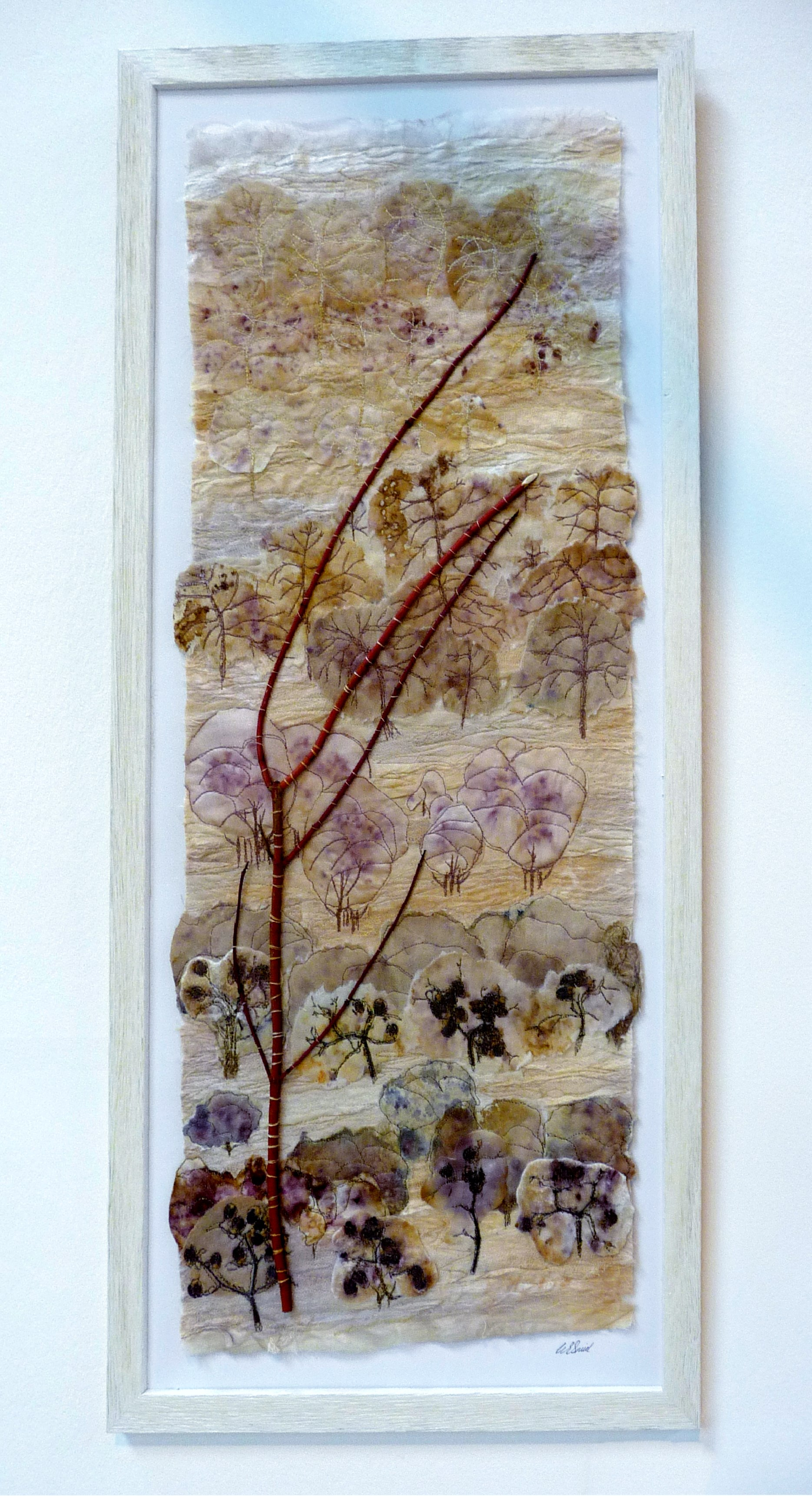 ORCHARD by Una Smith from Tangent Textiles