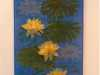MAJORELLE GARDENS (Waterlilies) by Pauline Barnes from Tangent Textiles