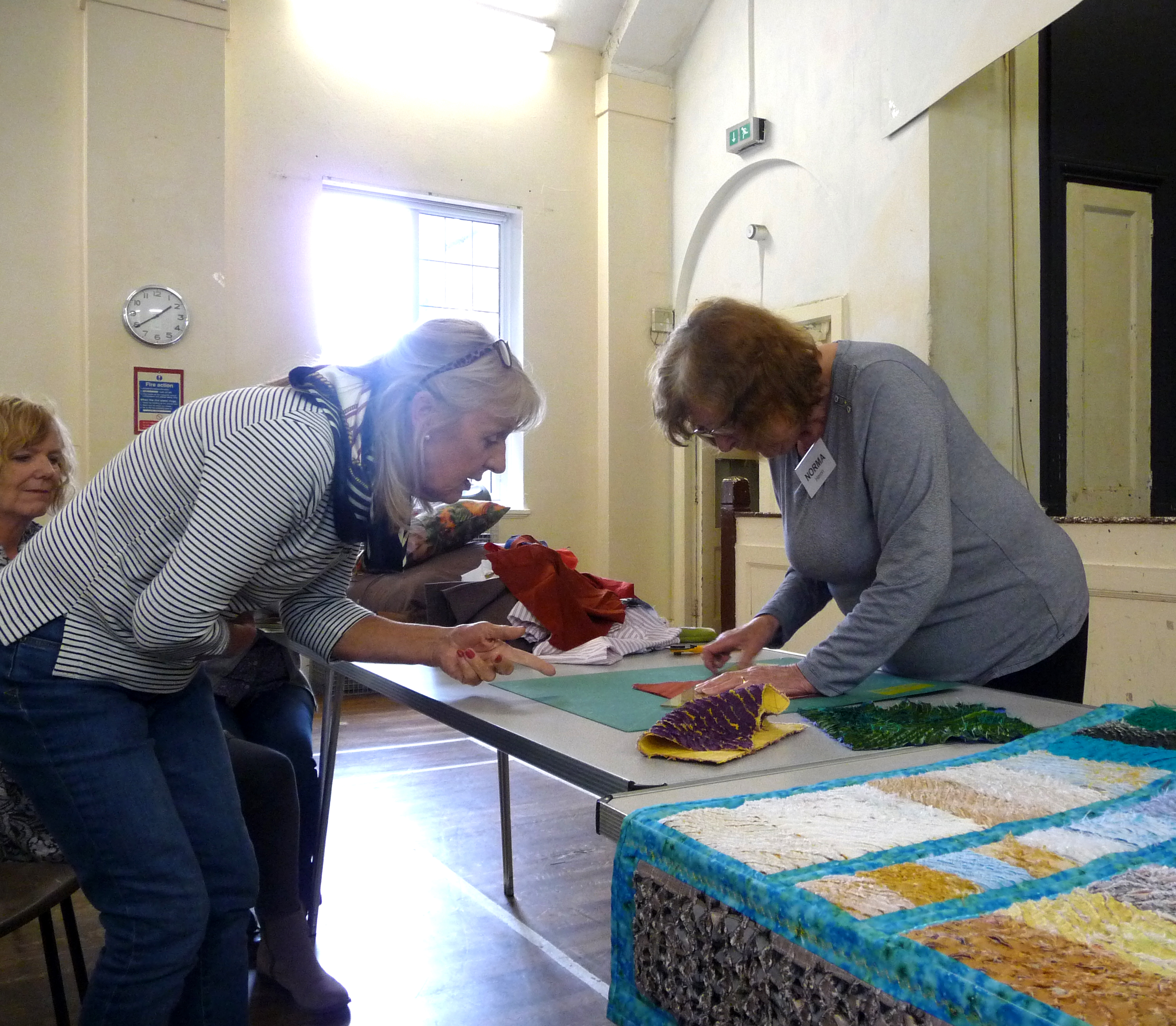 Machine Embroidery workshop with Norma Heron