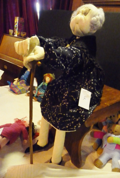 entry at the Make a Doll/ Dress a Doll competition 2012- and First Prize Winner