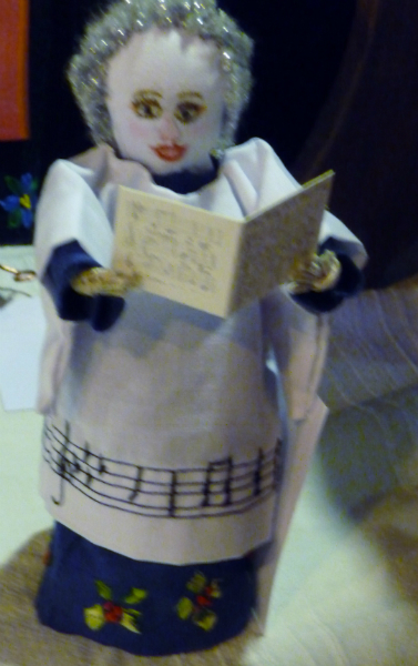 entry at the Make a Doll/ Dress a Doll competition 2012