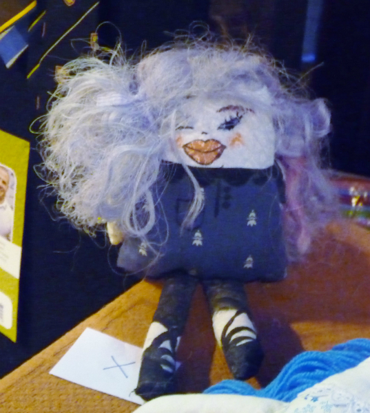 YE entry at the Make a Doll/ Dress a Doll competition 2012- and First Prize winner of the older age group