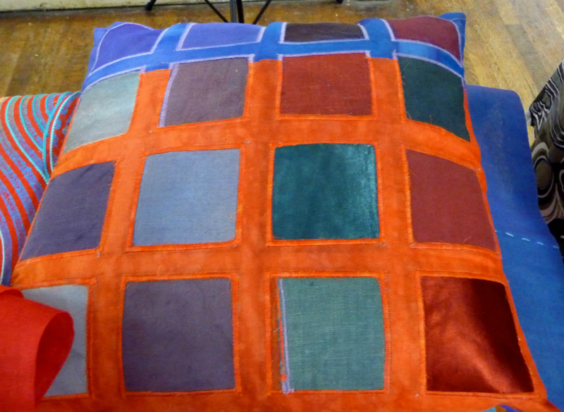 cushion by Ruth Isset