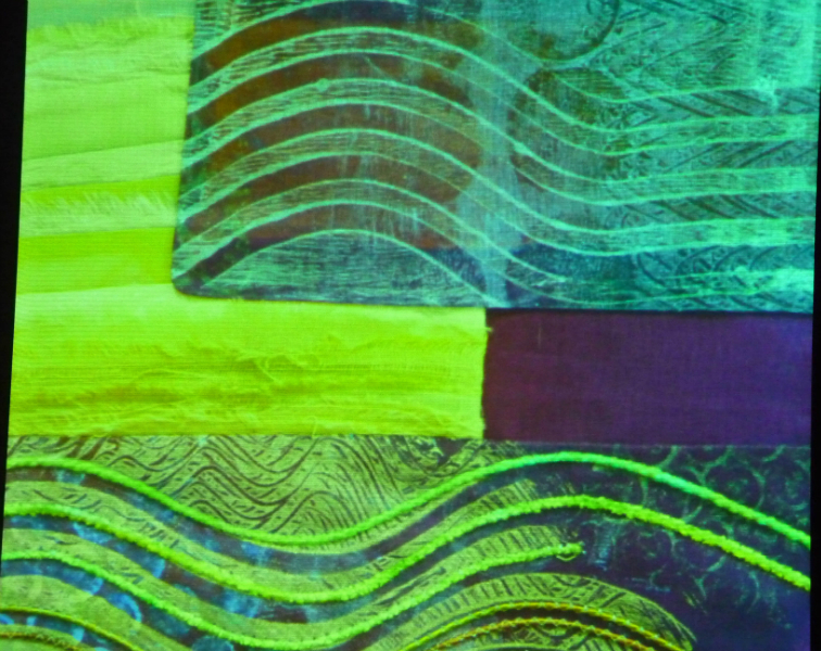 printed textile by Ruth Isset