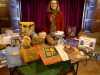 Karen with Handmade Bag stall at MEG Christmas Party 2014