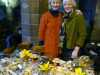 Sarah and Carolyn with the Homemade Cake stall at MEG Christmas Party 2014