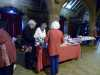 Vicky and Val with the Raffle Stall at MEG Christmas Party 2017