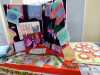 Young Embroiderers' display at MEG Christmas Party 2019