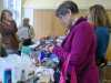 the Sales table is always popular to grab a bargain at MEG Christmas Party 2019