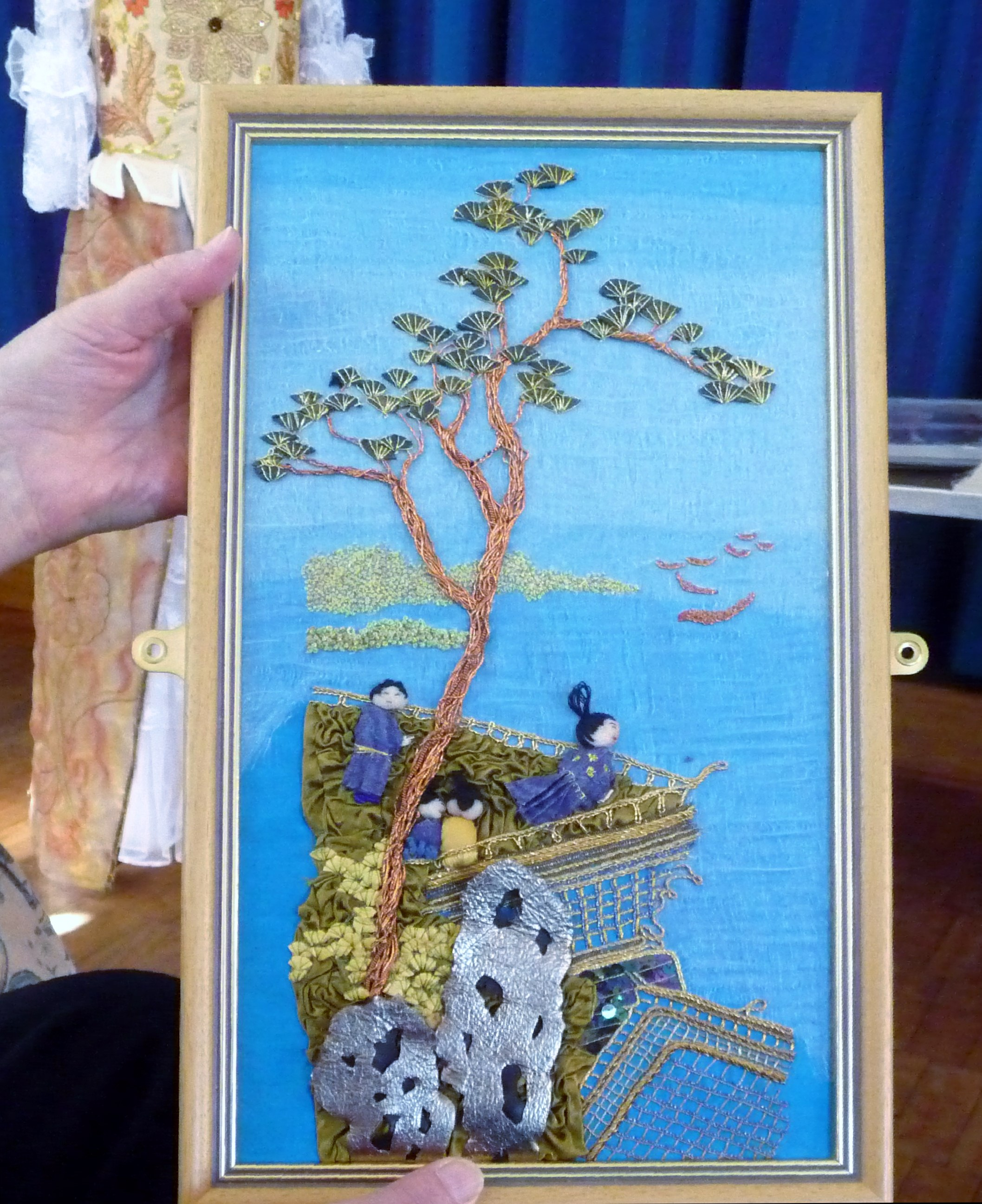 goldwork embroidery by Vicky Williams