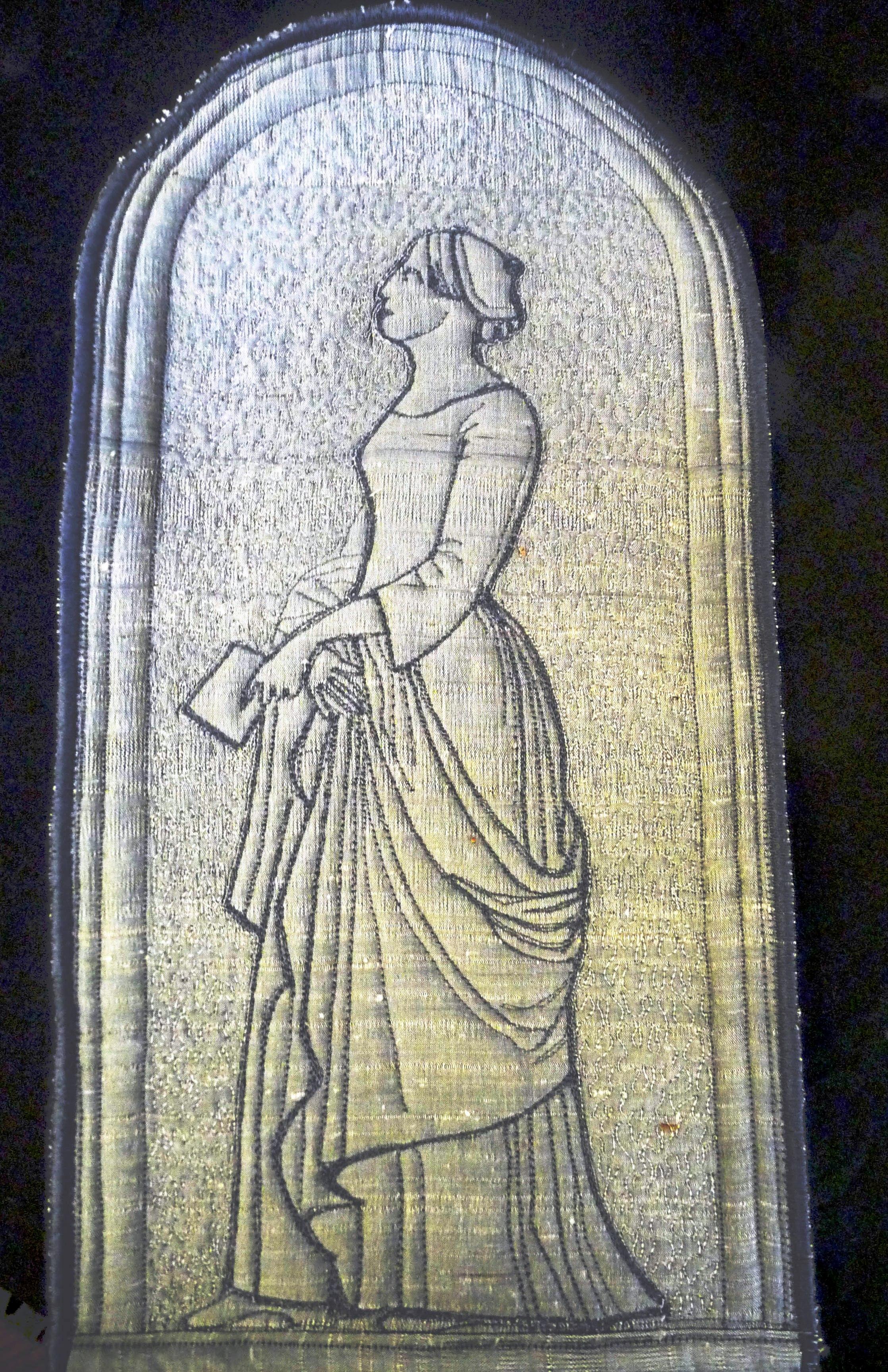 embroidery by Moya McCarthy