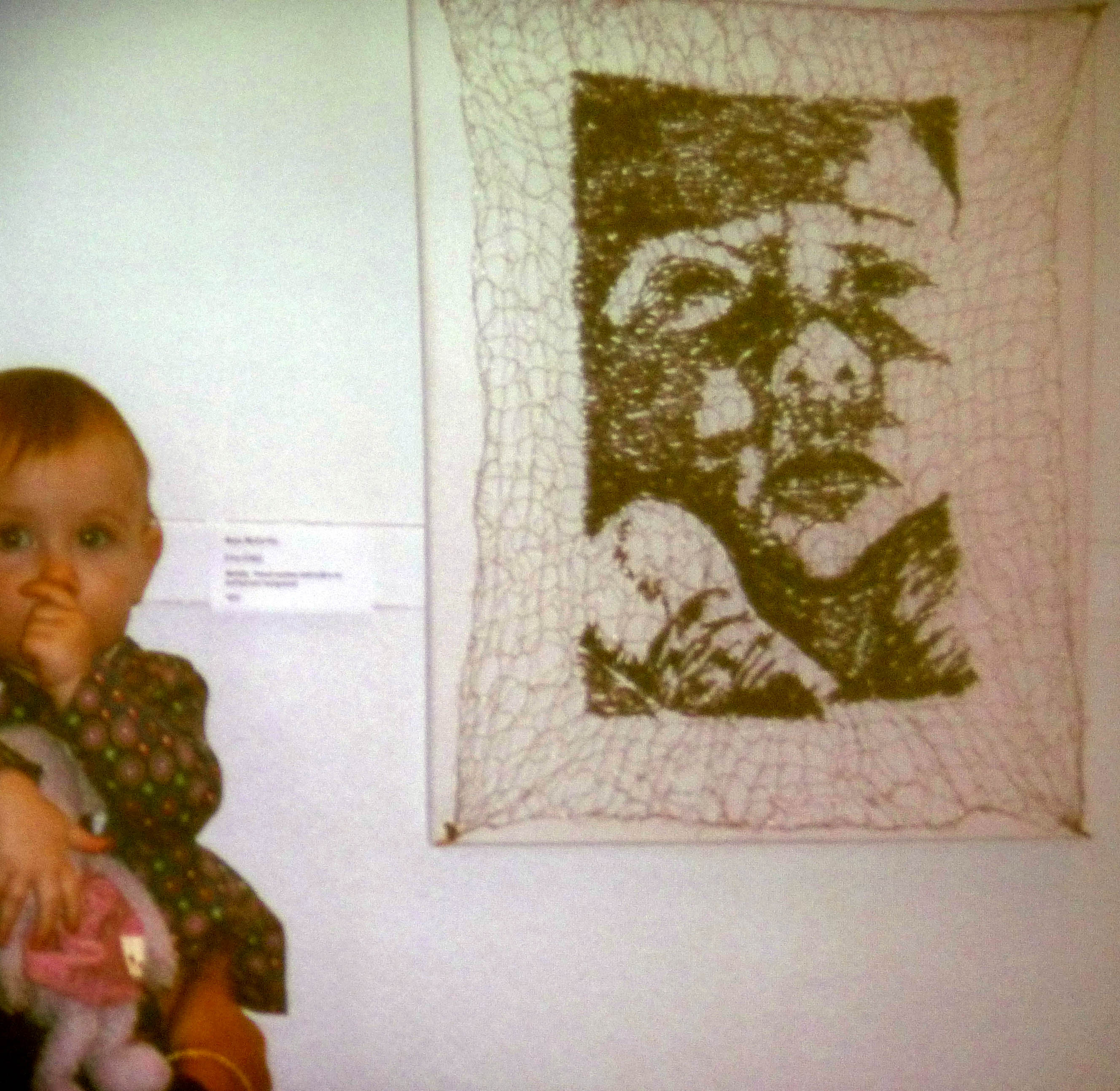 ETTA by Moya McCarthy, C&G Diploma L3 Metalwork Project, knitted wire