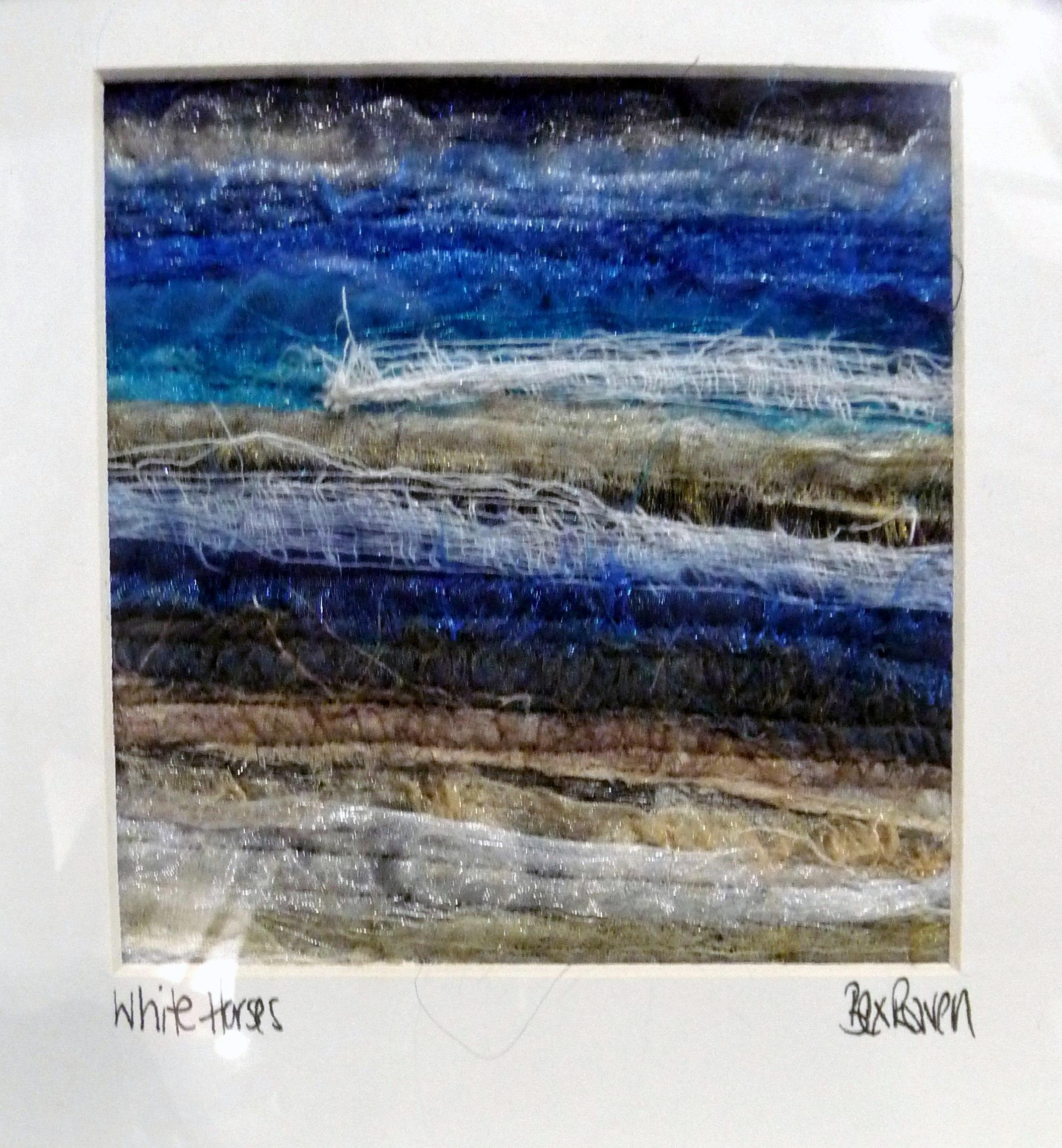 SEASCAPE 1 by Bex Raven, needle felting