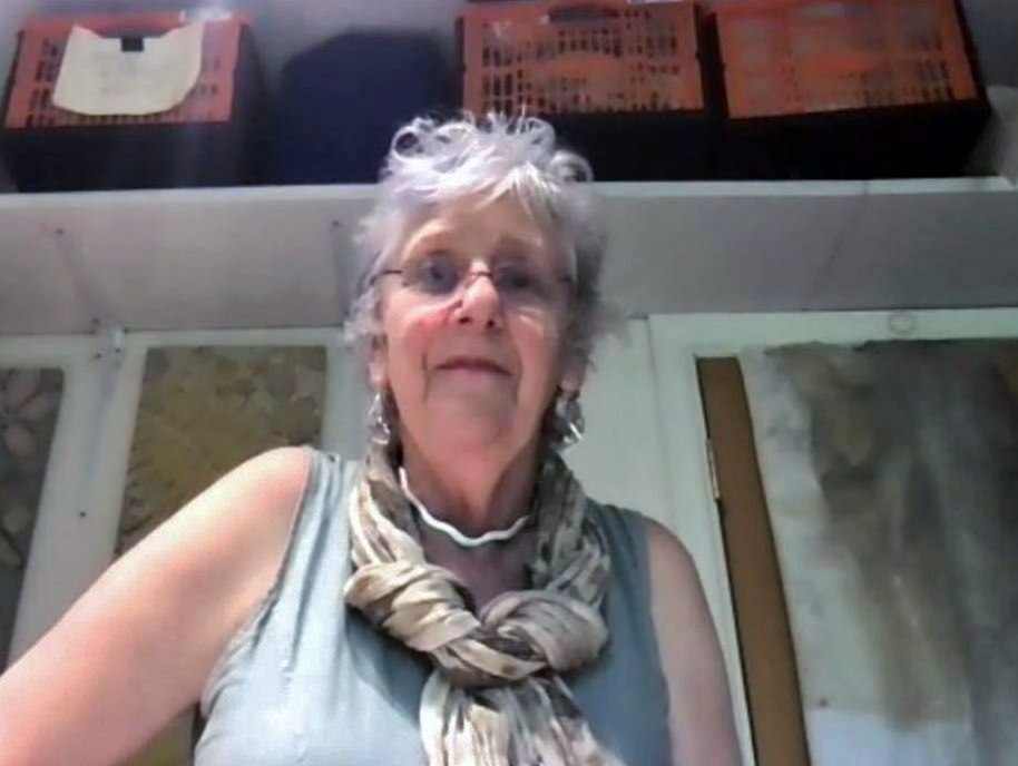 """Maggie Pearson at """"Natural Dyes and Botanical Printing"""" ZOOM Workshop 2021"""
