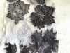 """student's work at """"Natural Dyes and Botanical Printing"""" ZOOM Workshop 2021"""