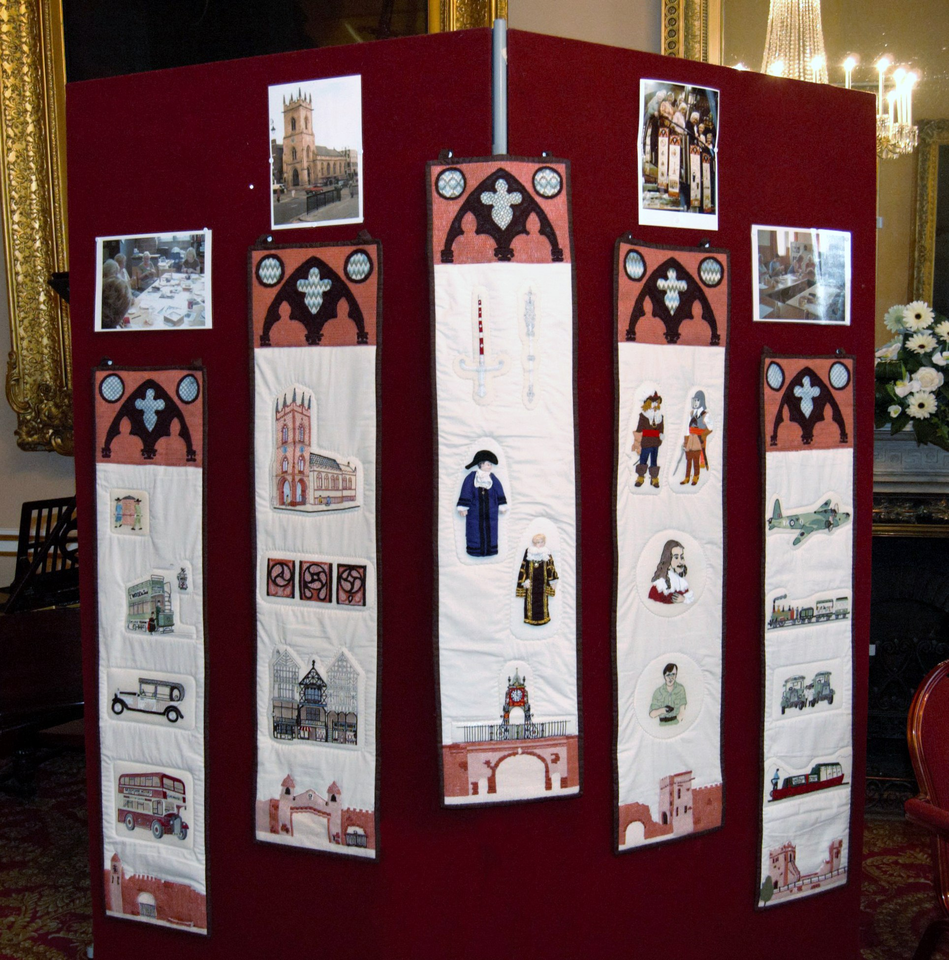 entry to Coats Anchor Award Competition at NW Regional Day 2008 in Liverpool Town Hall