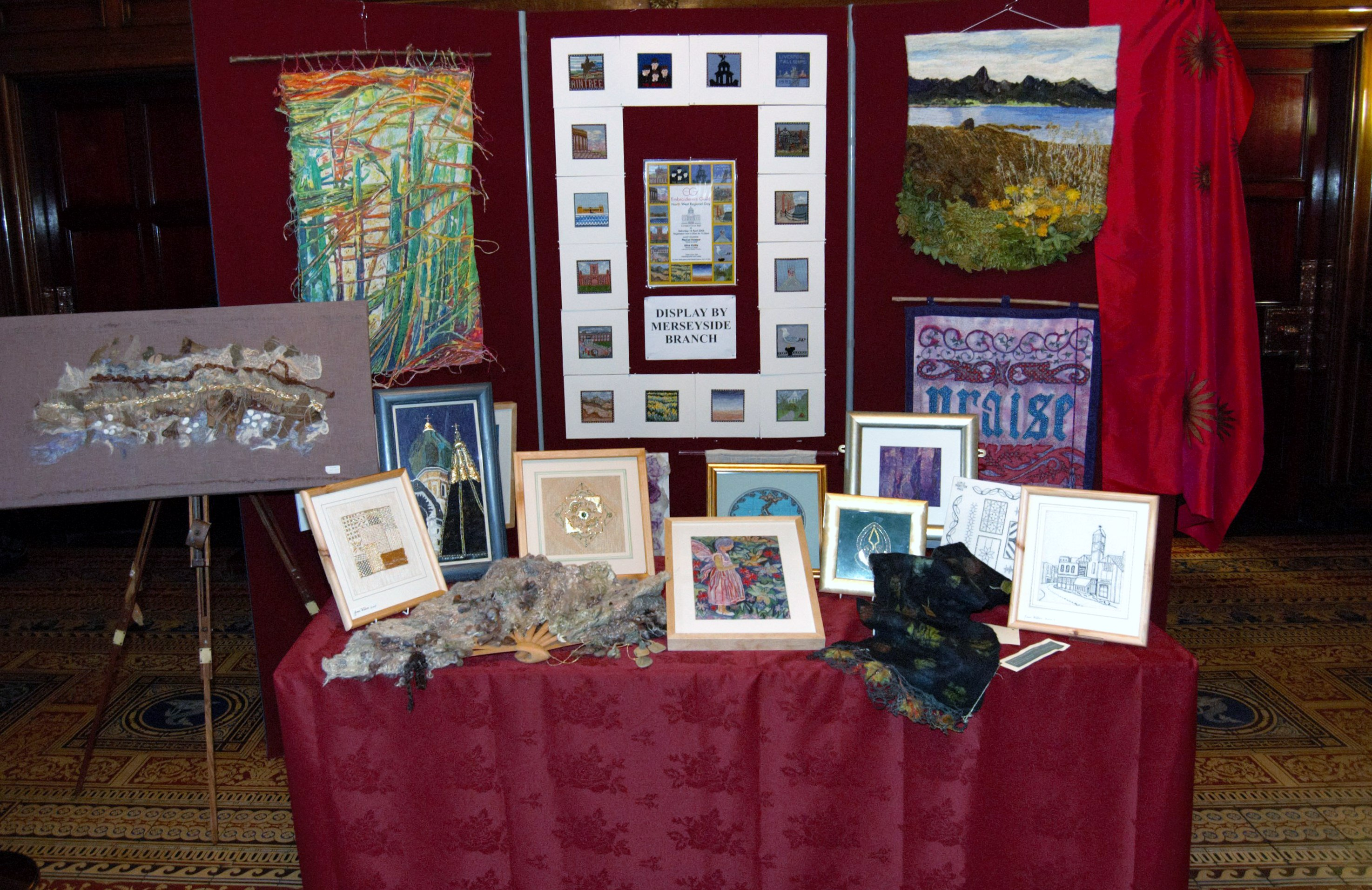 Merseyside Branch display at NW Regional Day 2008 in Liverpool Town Hall