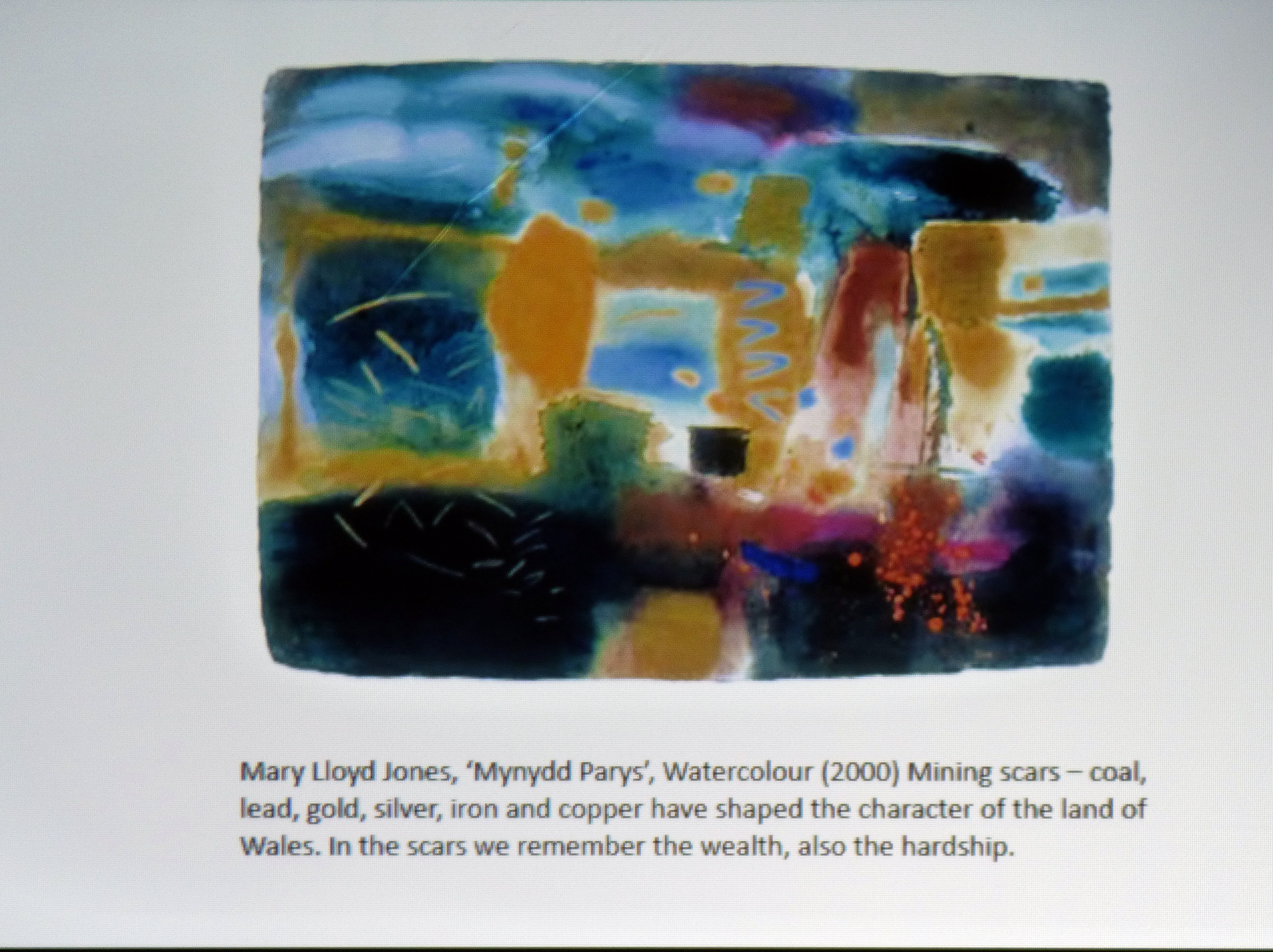paintings by Mary LLoyd Jones are an influence in Hanna Roberts work