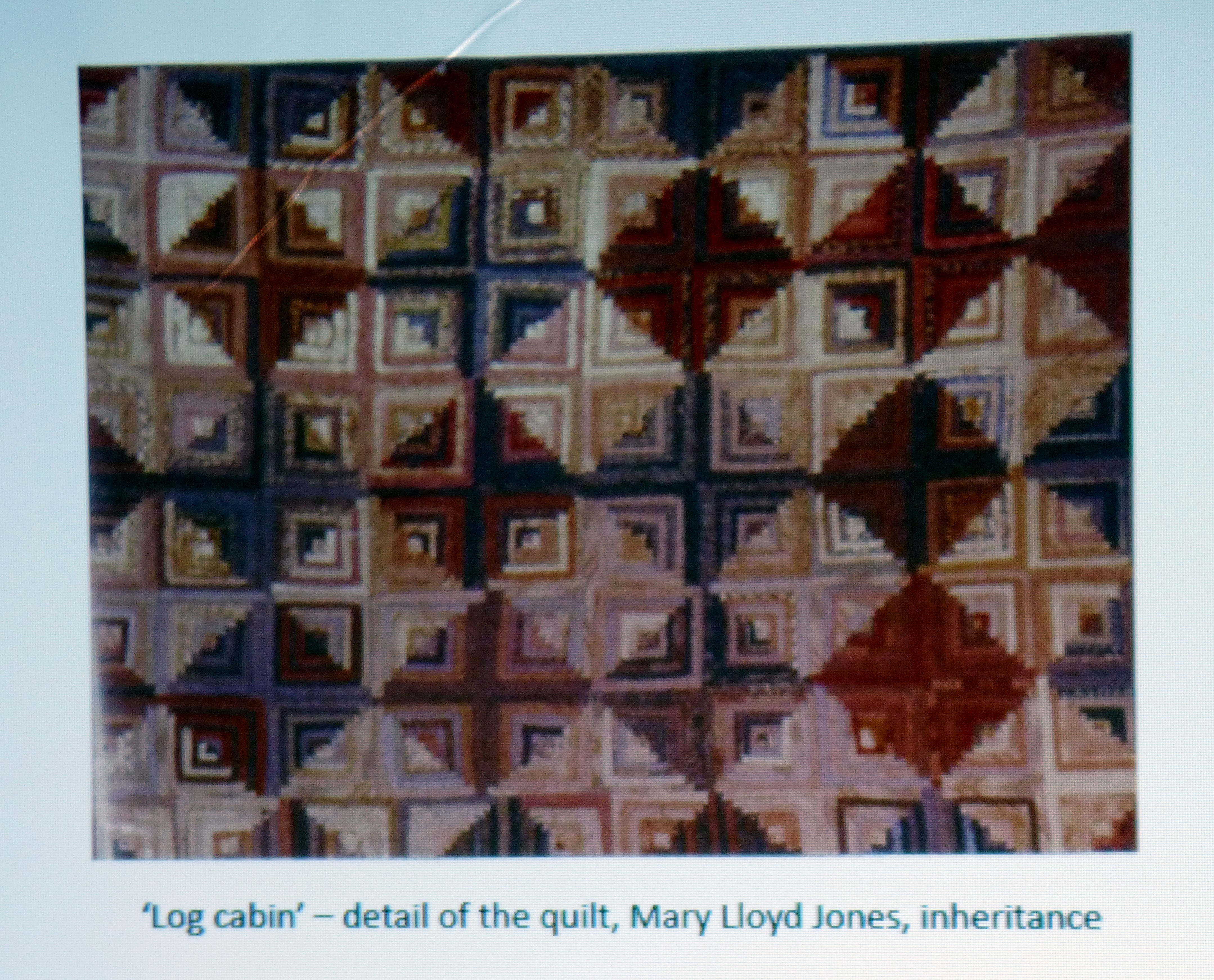 work by Mary LLoyd Jones is an influence in Hanna Roberts practice