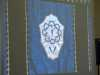 (detail) slide showing Blue Frontal, Liverpool Cathedral embroideries Talk by Vicky Williams 2019