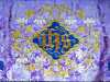 (detail) slide showing High Altar Passiontide Frontal, Liverpool Cathedral embroideries Talk by Vicky Williams 2019