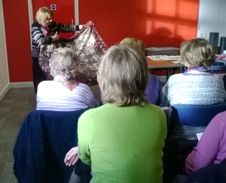 Norma Heron describes her work at Parbold EG