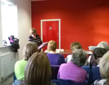 Norma Heron describes her work at Parbold EG