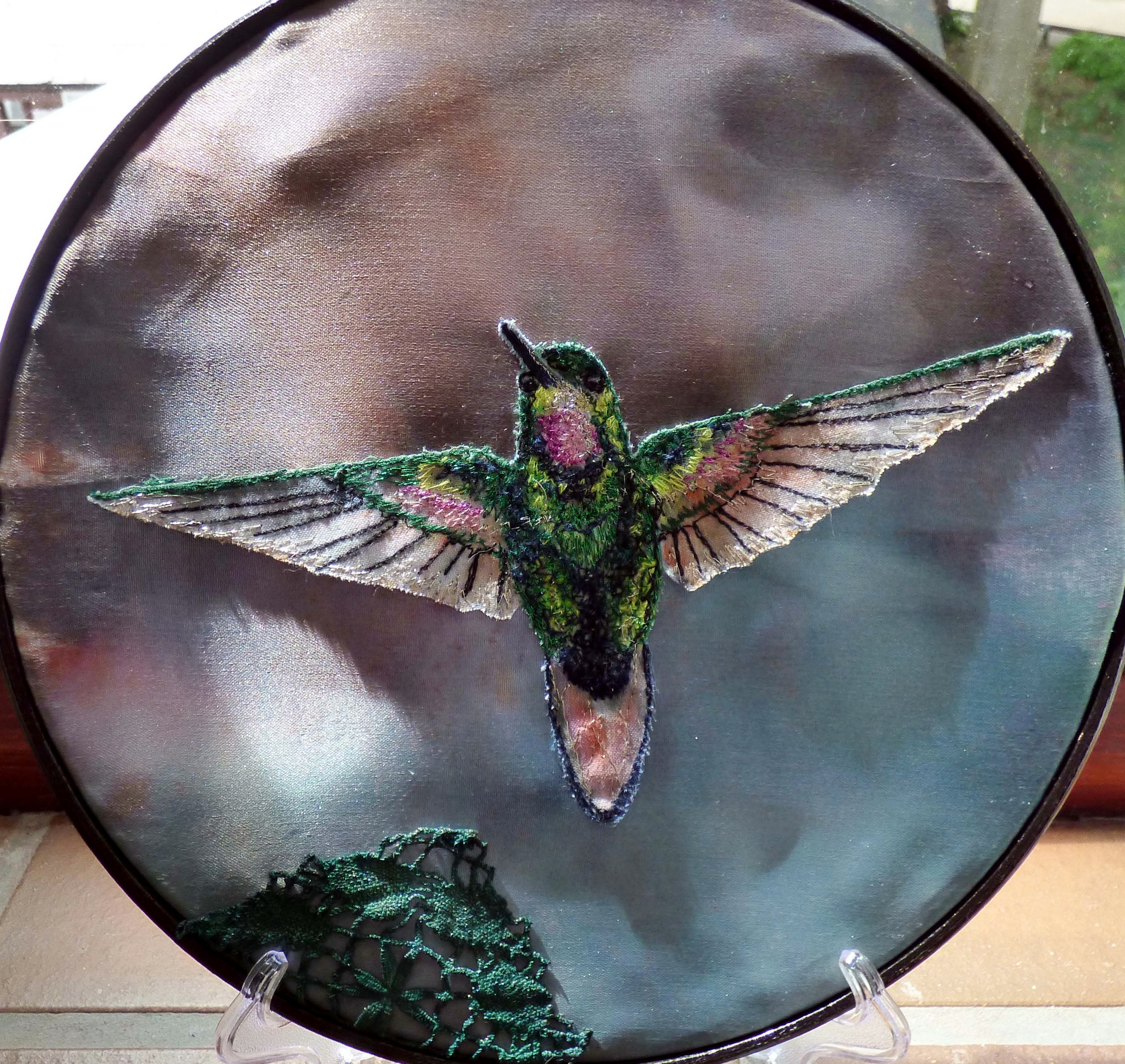 Hummingbird 1 by Susan Fielding, Natural Progression Group, July 2021