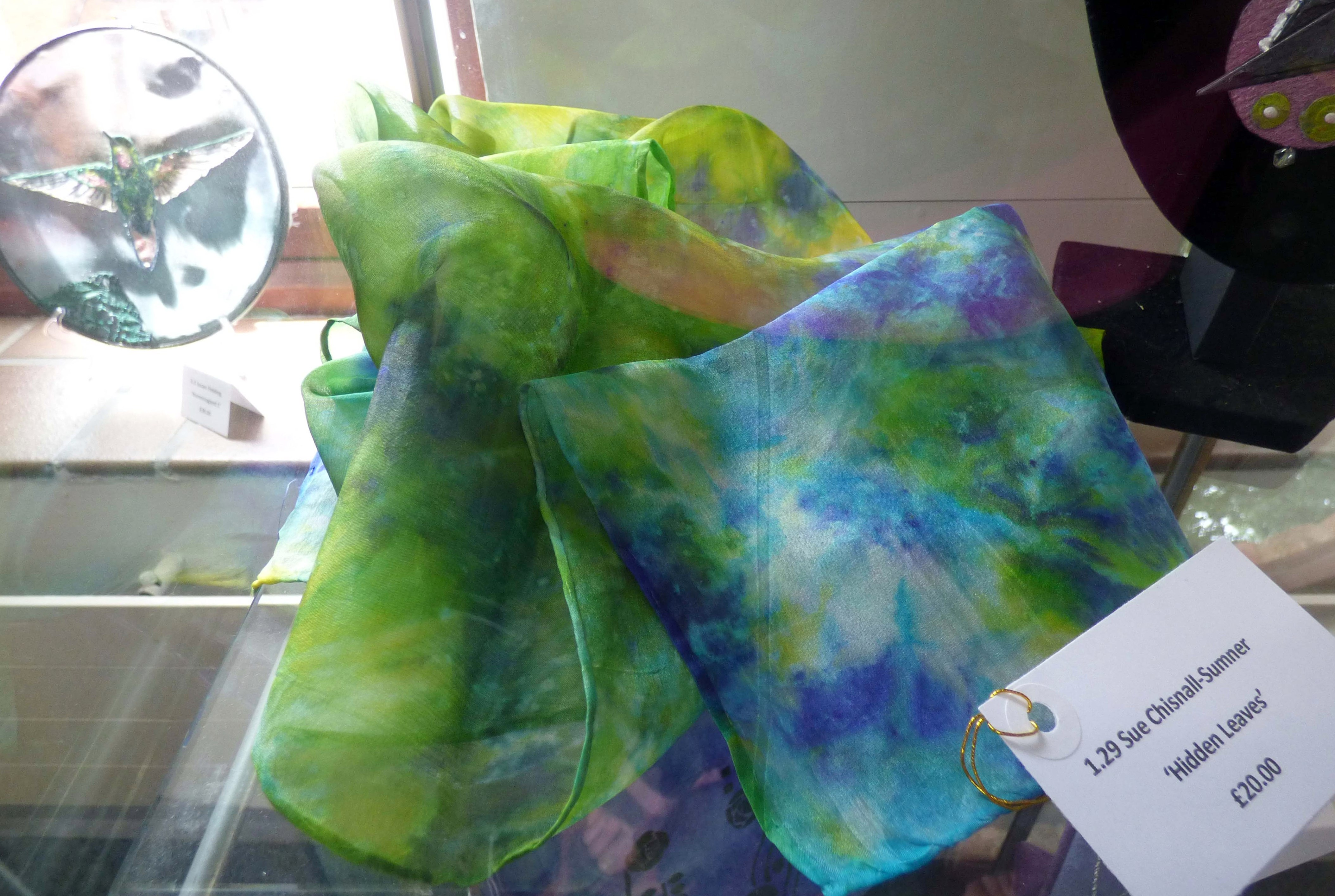 HIDDEN LEAVES by Sue Chisnall-Sumner, Natural progression Group, July 2021