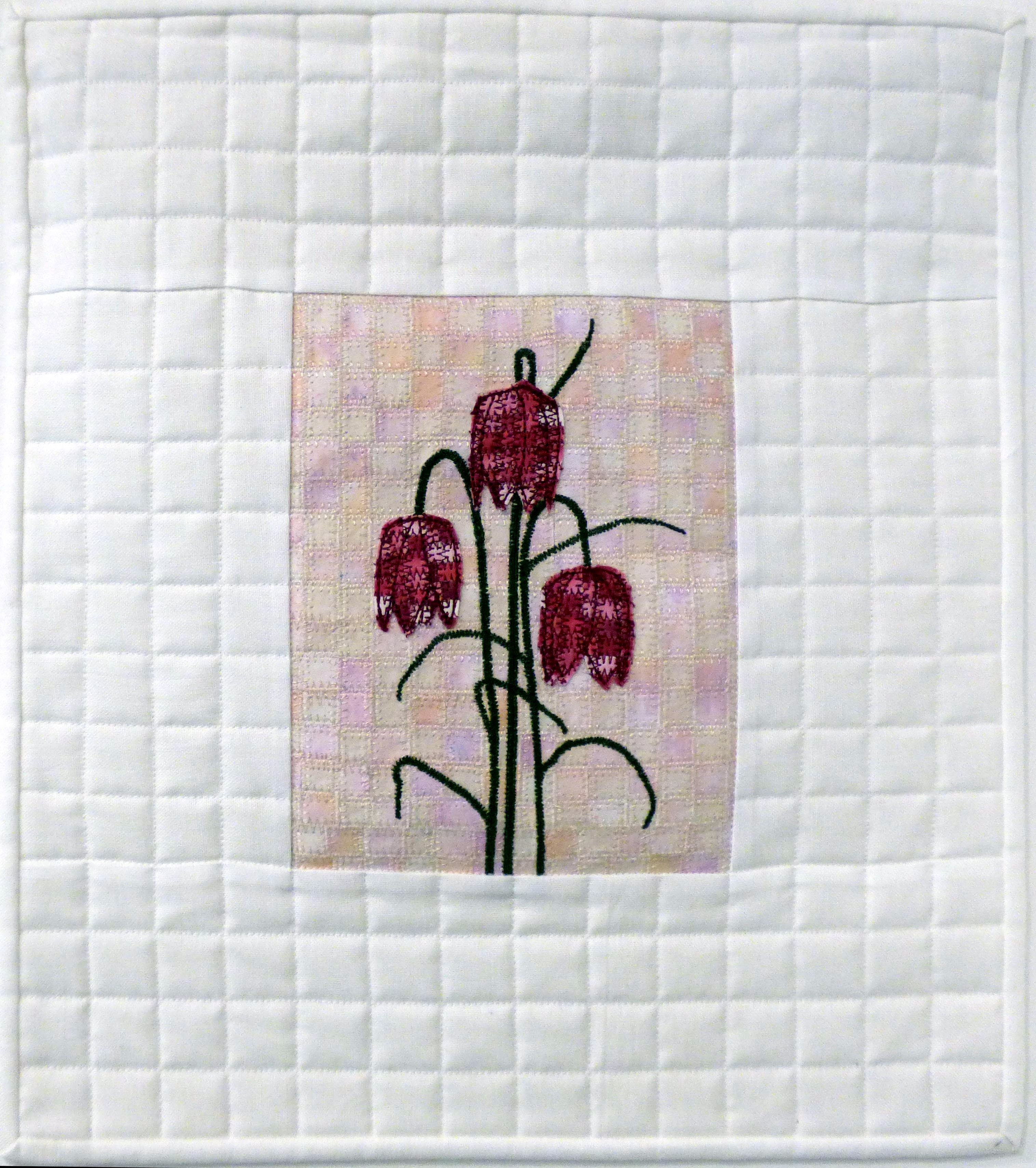 FRAGMENTS OF FRITILLARIA by Suzanne Snape, Natural Progression Group, July 2021