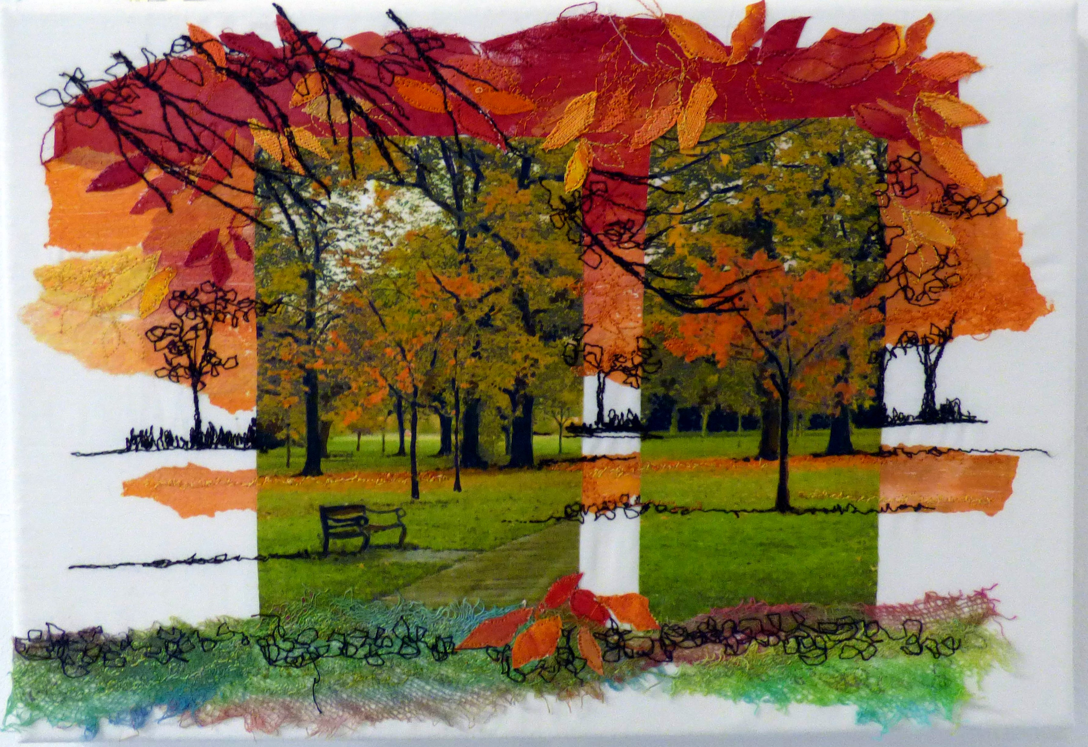 AUTUMN SKETCH by Nicky Robertson, Natural Progression Group, July 2021