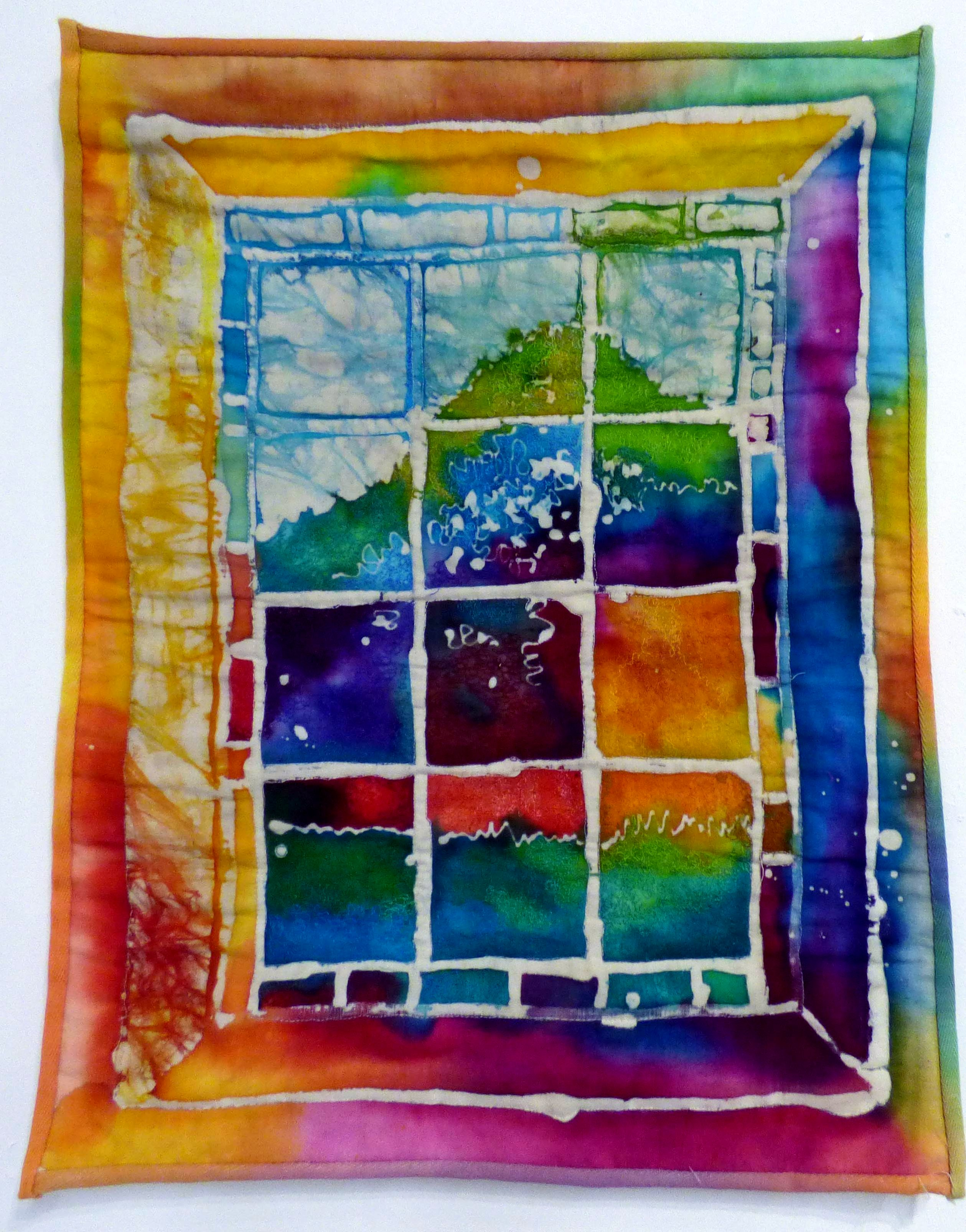ACCRINGTON WINDOW by Nicky Robertson, Natural Progression Group, July 2021