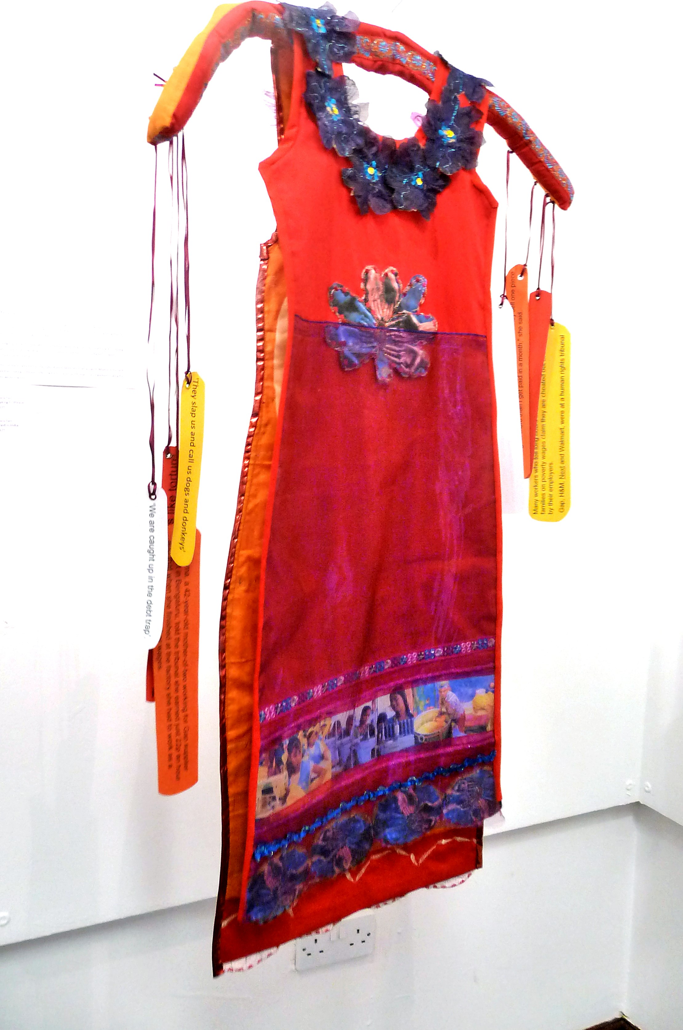 MAID IN INDIA by Maria Tarn of TX Textiles group