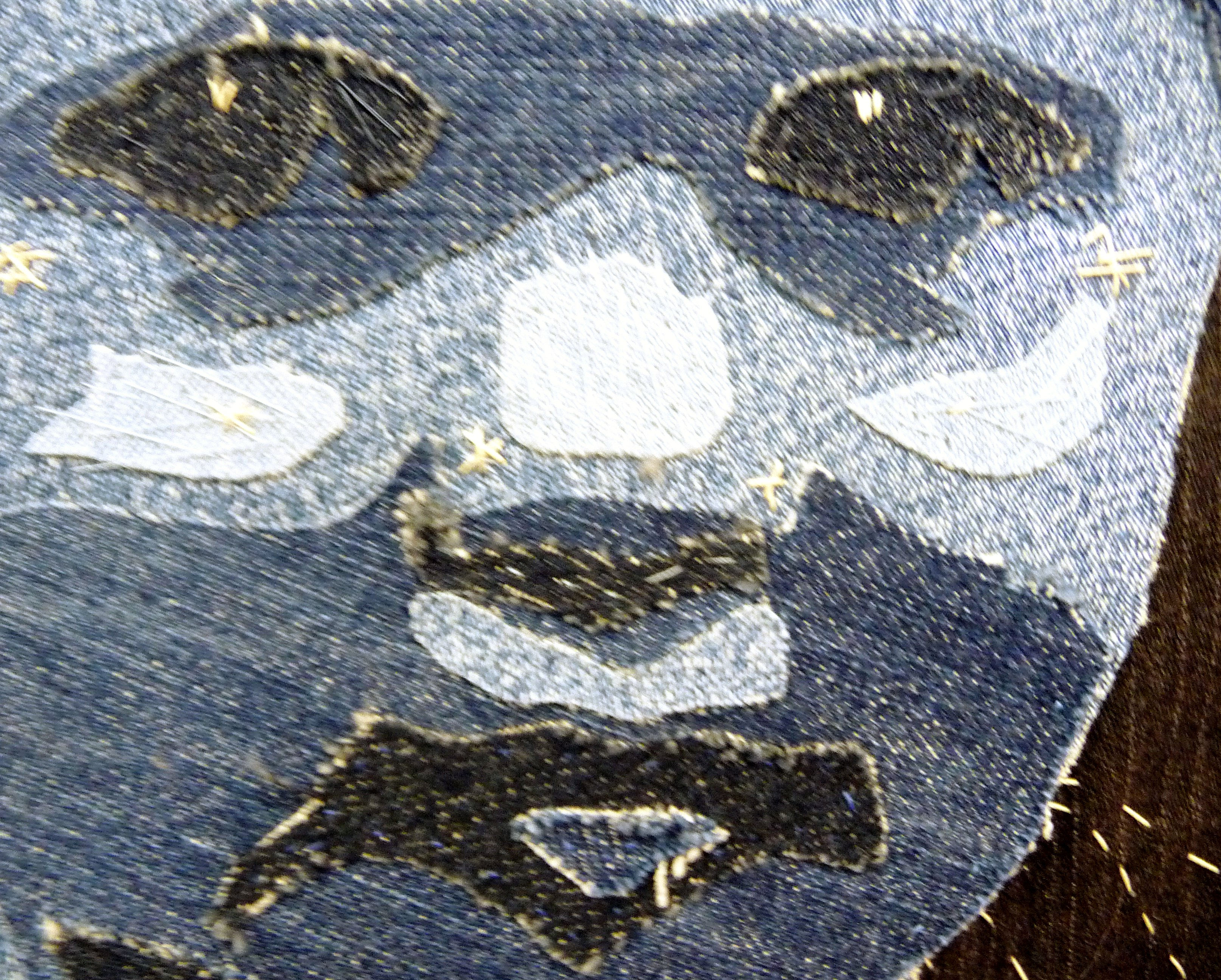 detail of ARCHIE by Sue Archer of TX Textile group