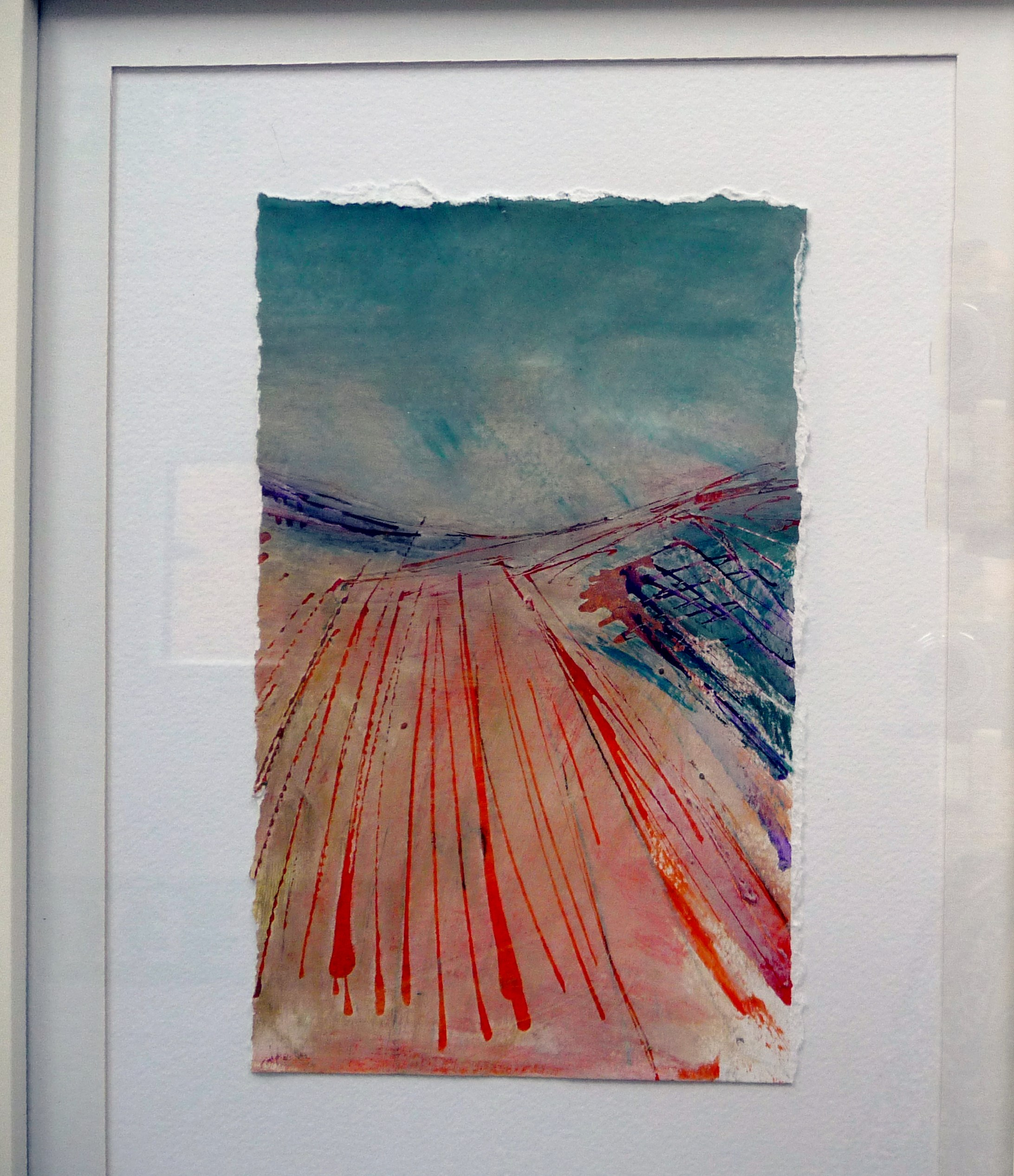 WELSH LANDSCAPE I by Deb Kemp of TX Textiles group