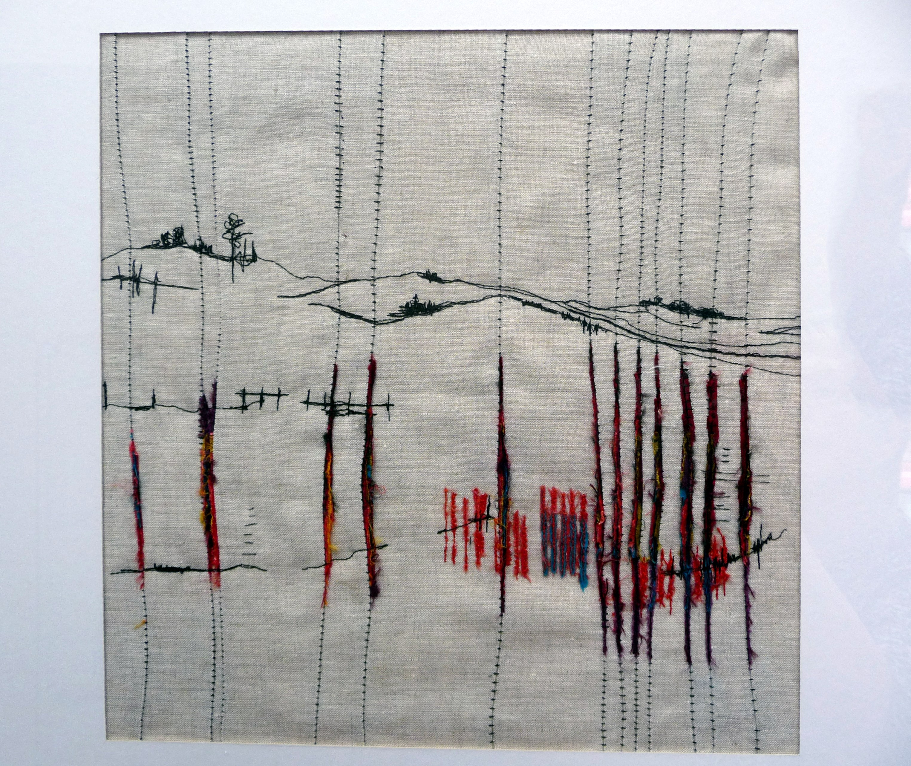 WINTER LANDSCAPE by Deb Kemp of TX Textiles group