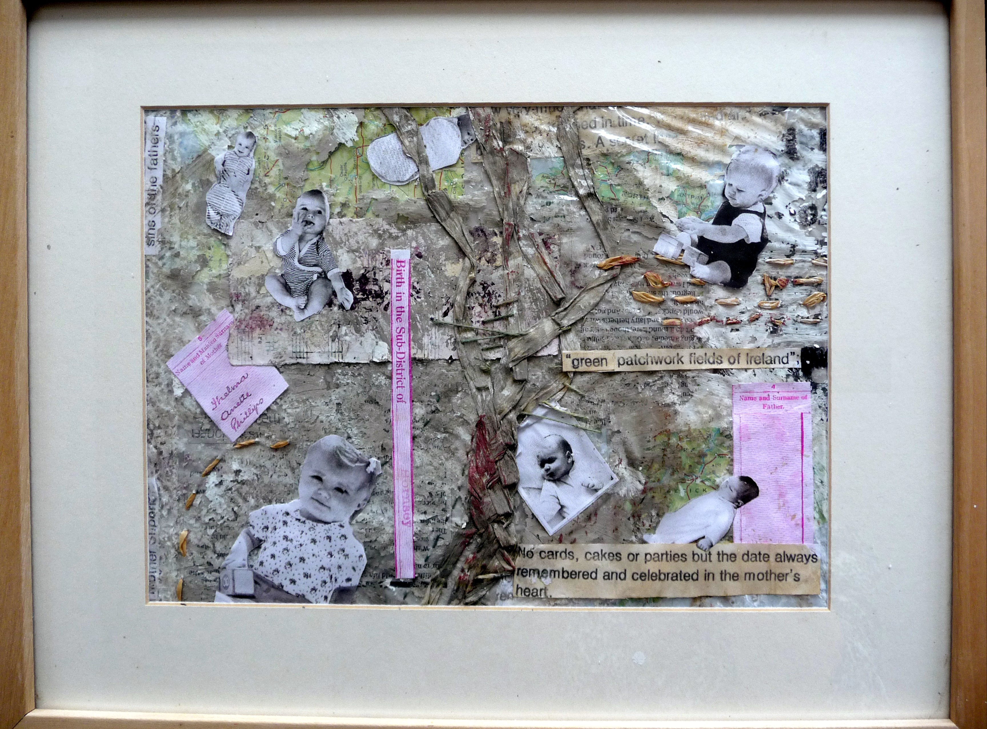 PUTTING THE PIECES BACK TOGETHER by Meryl Phillips of TX Textiles group